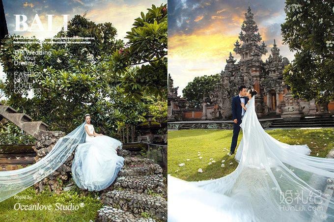 巴厘岛婚纱摄影照,婚礼摄影