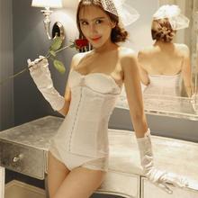710蕾丝腰封春夏新款婚纱礼服专用托胸收腹束腰带矫形美背腰封