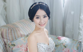 【艾米丽妆点】新娘跟妆特级化妆师套餐