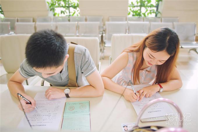 """【小新婚礼视觉】-领证跟拍-从""""我""""变成""""我们"""""""