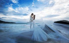 唯我珍爱高级定制极致·美婚纱照《水调歌头》系列
