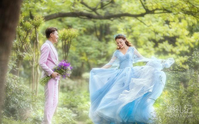 森系婚纱照 - 蓝色梦境