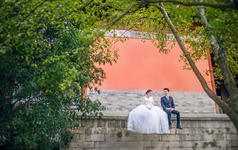 【纪绪摄影】南京婚纱摄影外景特色复古婚纱照