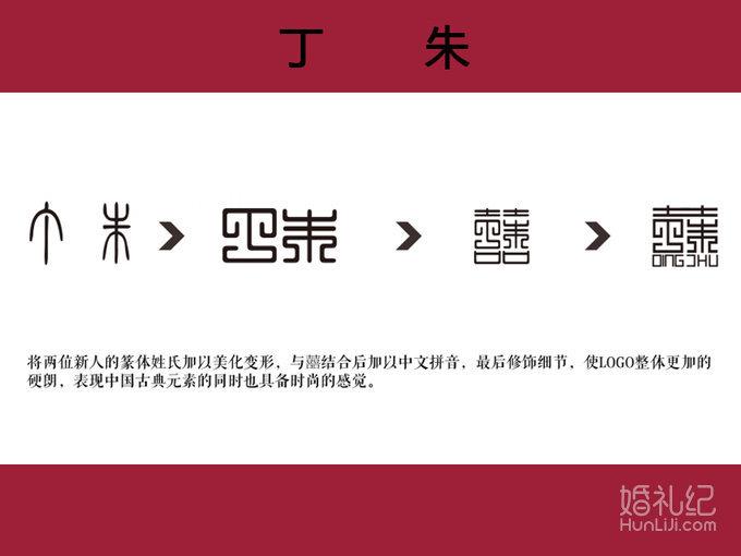 【婚礼主题logo设计案例】