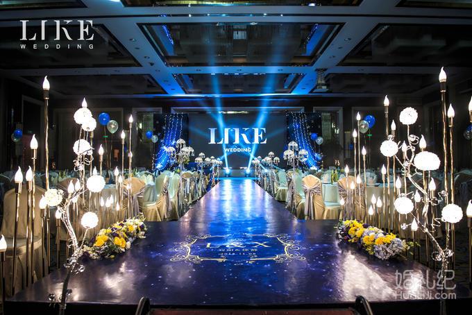 仪式区 主题背景       led屏素材   舞台包白  灯光舞美 婚礼灯光