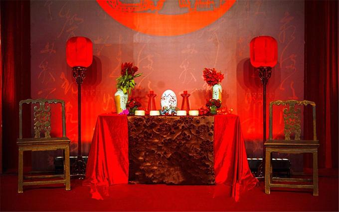 豪华中式婚礼策划