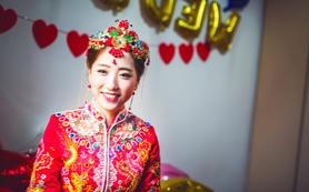 【AK婚纱】中式三件套系