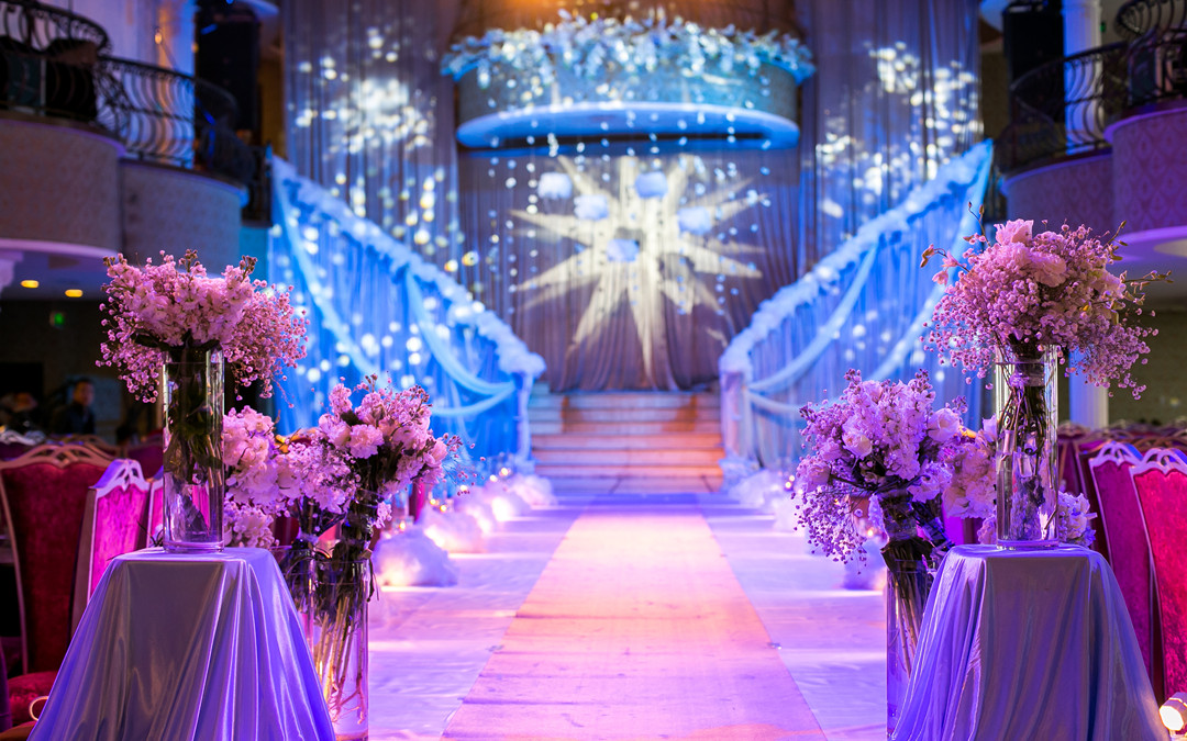 佚设计婚礼定制——室内小型冰雪婚礼