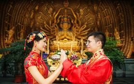 杭城最有心思的摄影团队之【佛法婚礼】