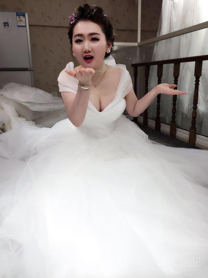 短发中式婚纱新娘造型分享展示