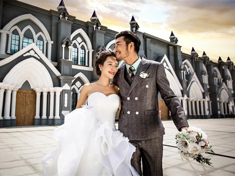 时尚婚纱照【左岸视界】爱在七夕外景