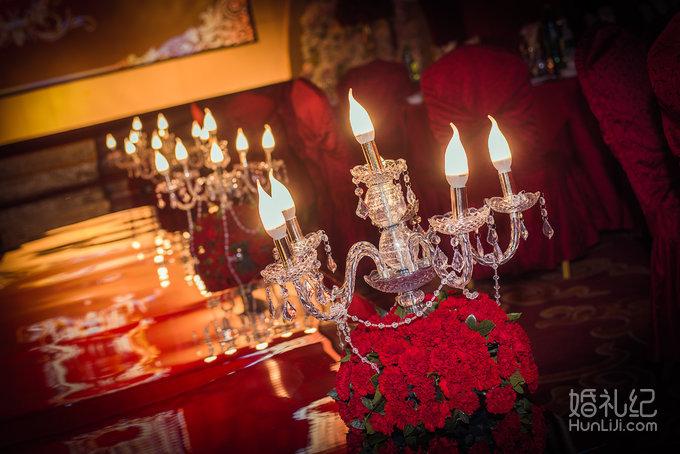 今后成华|红色欧式华美婚礼