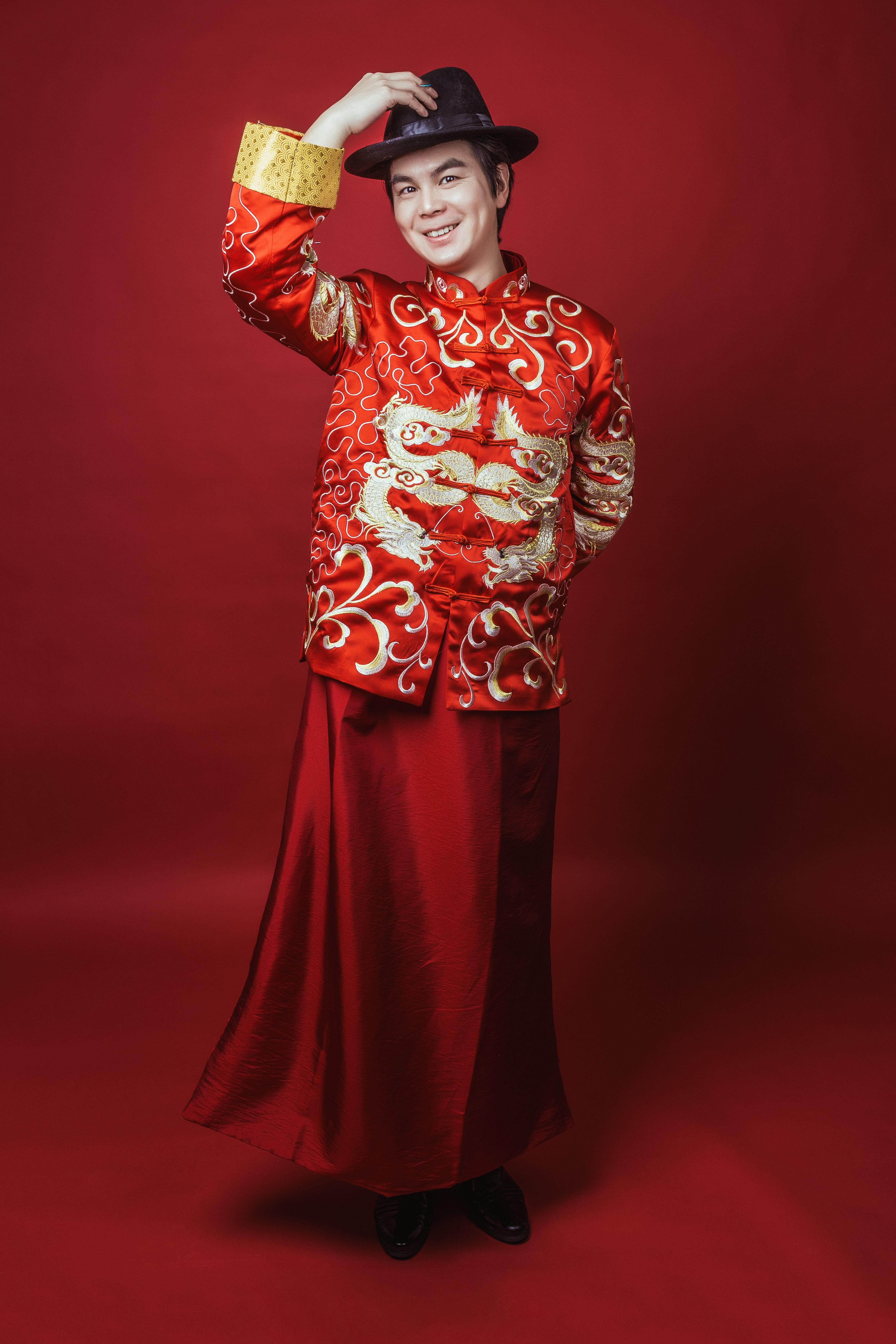 中式礼服婚纱礼服