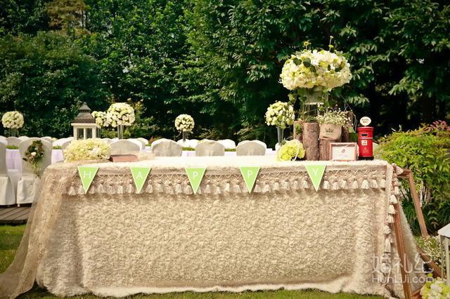 欧式室外婚礼现场