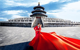 中国风婚纱照系列-天坛太庙故宫【北京V视觉】