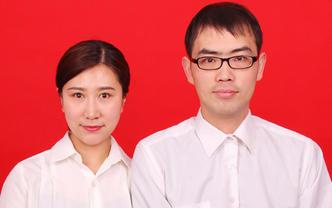 完美结婚登记证件照 提供情侣装+精致彩妆+精修