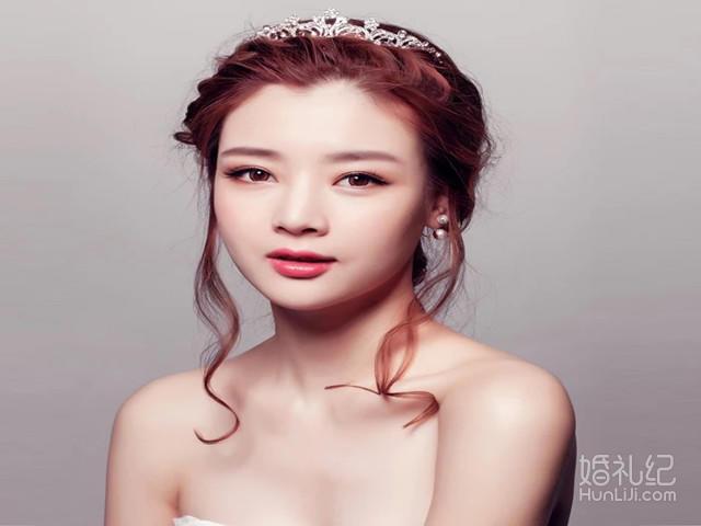 源源新娘造型之韩式各种造型