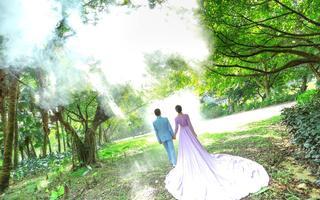清新唯美婚纱照【我们的婚纱摄影客片】肖先生夫妇