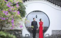【我们的婚纱摄影客片】叶先生夫妇古装婚纱照