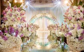 【低调女神最爱】室内清新暗场婚礼