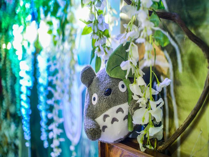 绿色森系主题婚礼《龙猫》