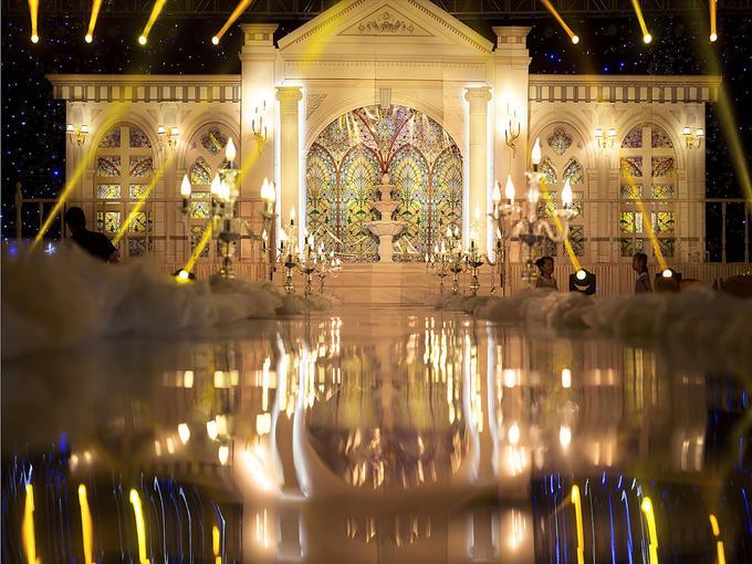香槟色欧式宫廷风主题婚礼《超越时空的爱恋》