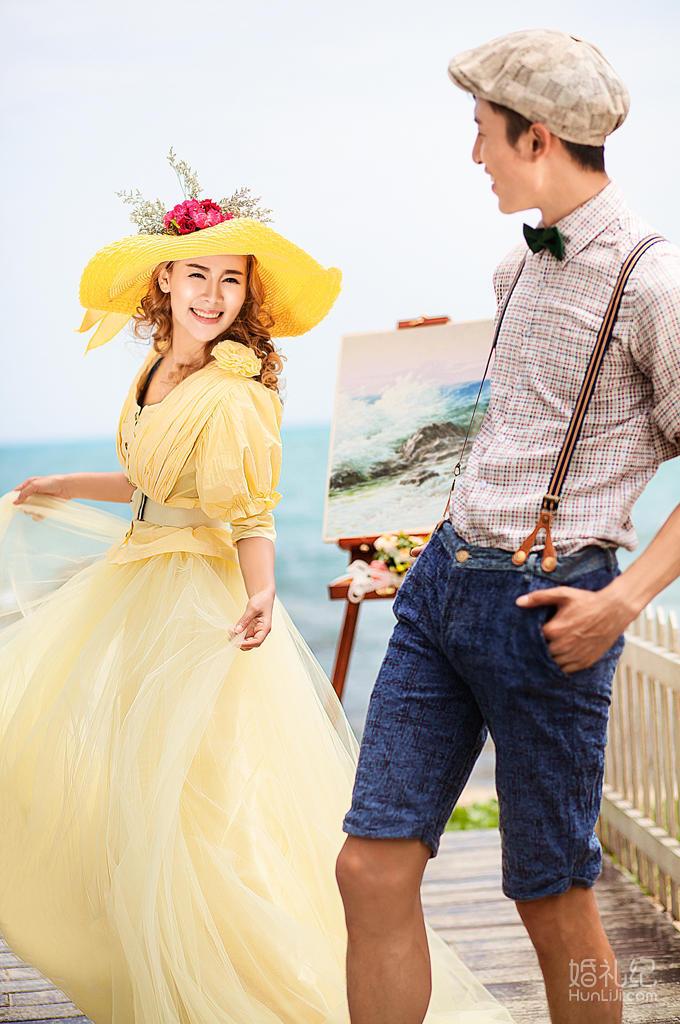 「婚礼纪」专供>5A天涯海角+海景酒店+DV花絮