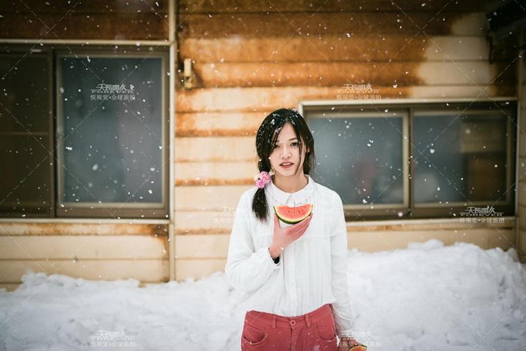 天长地久-全球旅拍【日本-北海道雪景】