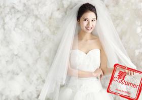 韩籍总监拍摄的婚纱照