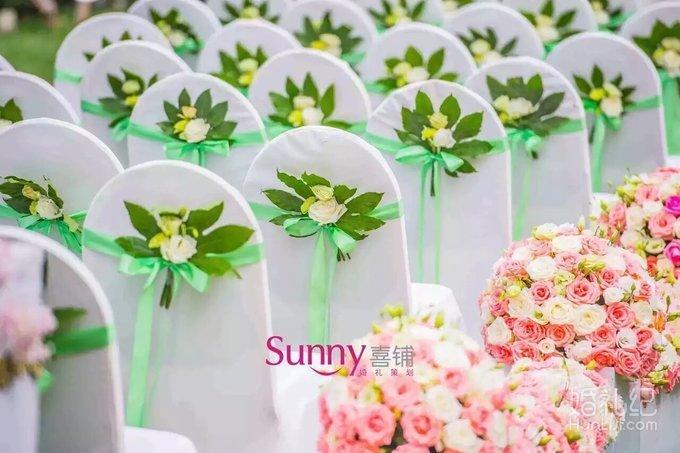 鲜花户外婚礼