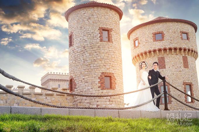 城堡的画法步骤
