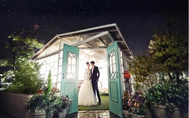 【韩国乐恩】13800元轻奢主义完美婚纱照