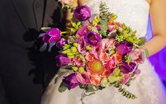吉辰婚礼 粉色&紫色 M&G