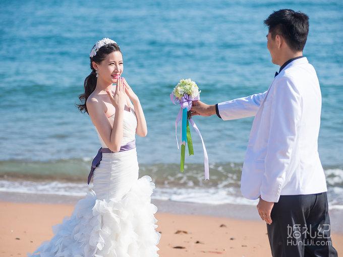 青岛 海景婚纱照