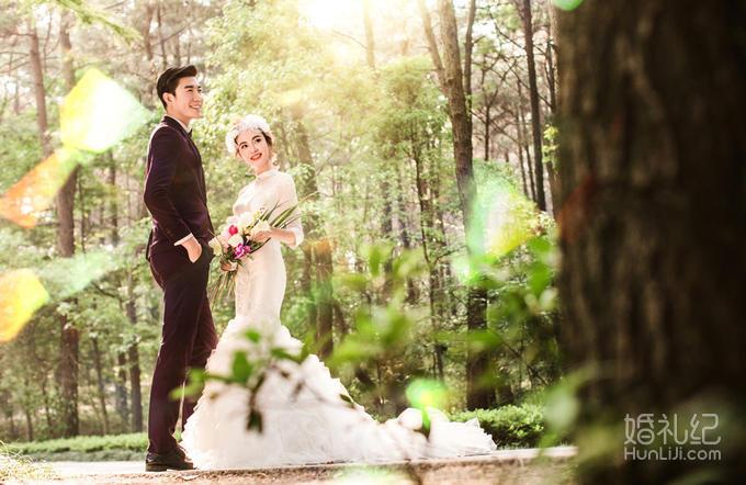 欧式庄园 婚礼 小河