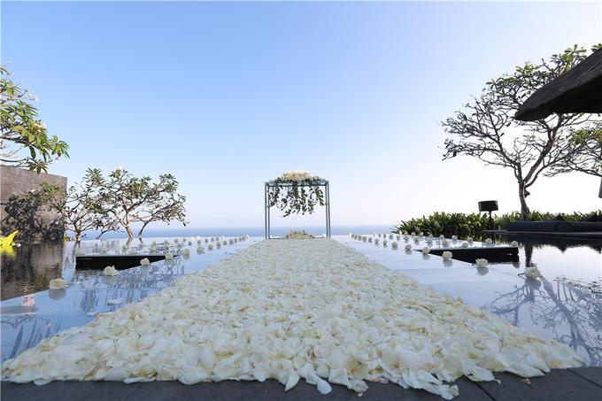 巴厘岛宝格丽水上婚礼