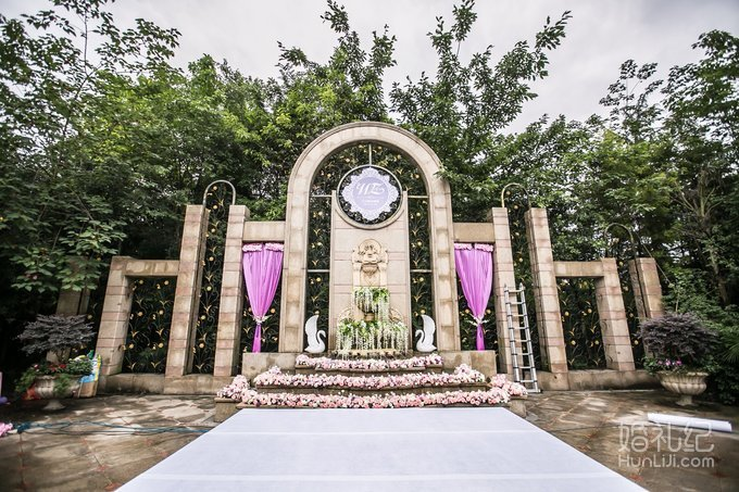欧式户外婚礼,婚礼策划公司