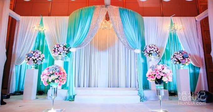 婚礼主题logo制作设计 浪漫时光香槟塔精美装饰  通道