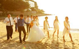 总监婚礼摄影师单人单机拍摄