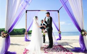 【芊寻海外婚礼】巴厘岛五星级酒店万豪私人沙滩婚礼