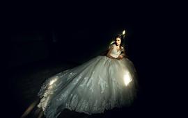 【AK婚纱】梦幻主纱一件套系