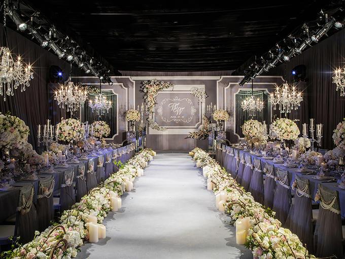 婚礼套西橱窗设计