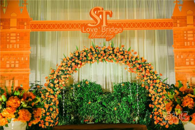 【品鉴国际婚礼定制】LOVE  BRIDGE