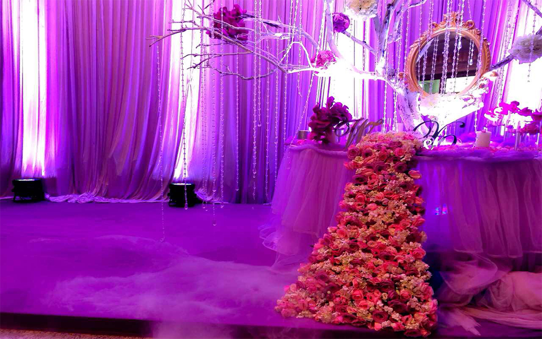 伴侣婚礼订制 紫色浪漫