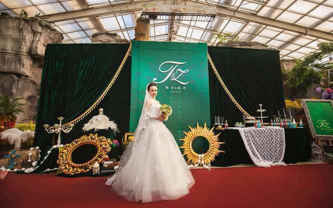 绿光森林  主题婚礼