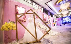 【喜薇庭】割舍不掉的少女心,梦幻粉色系主题婚礼
