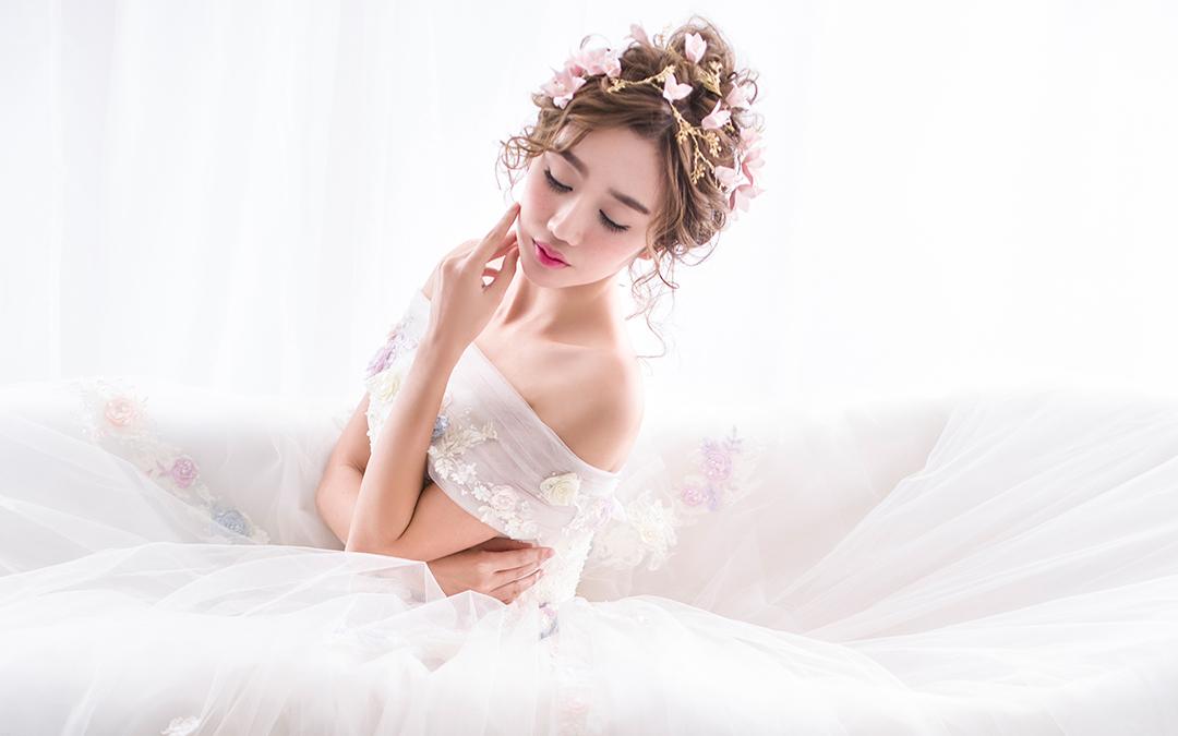 婚礼造型图片
