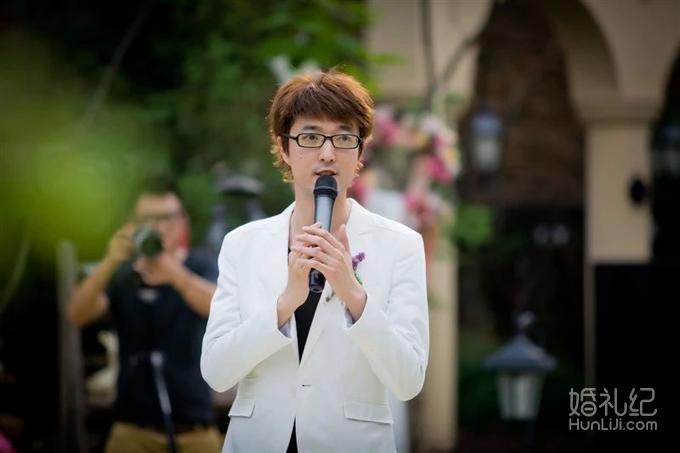 婚礼主持人刘博
