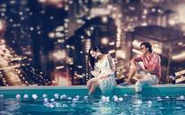 【玛雅婚纱摄影】水下摄影