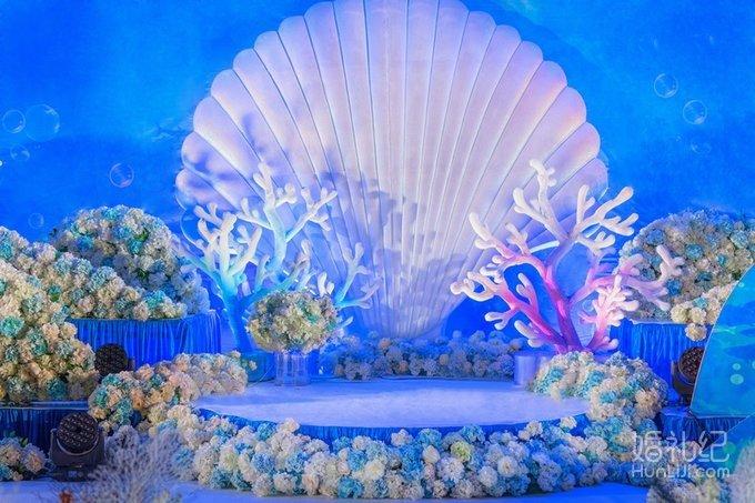 【成都唯爱婚礼作品】海洋系